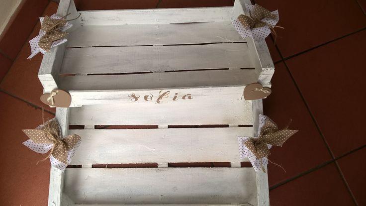 Casetta legno shabby chic porta bomboniere ...misshobby la bottega di dora