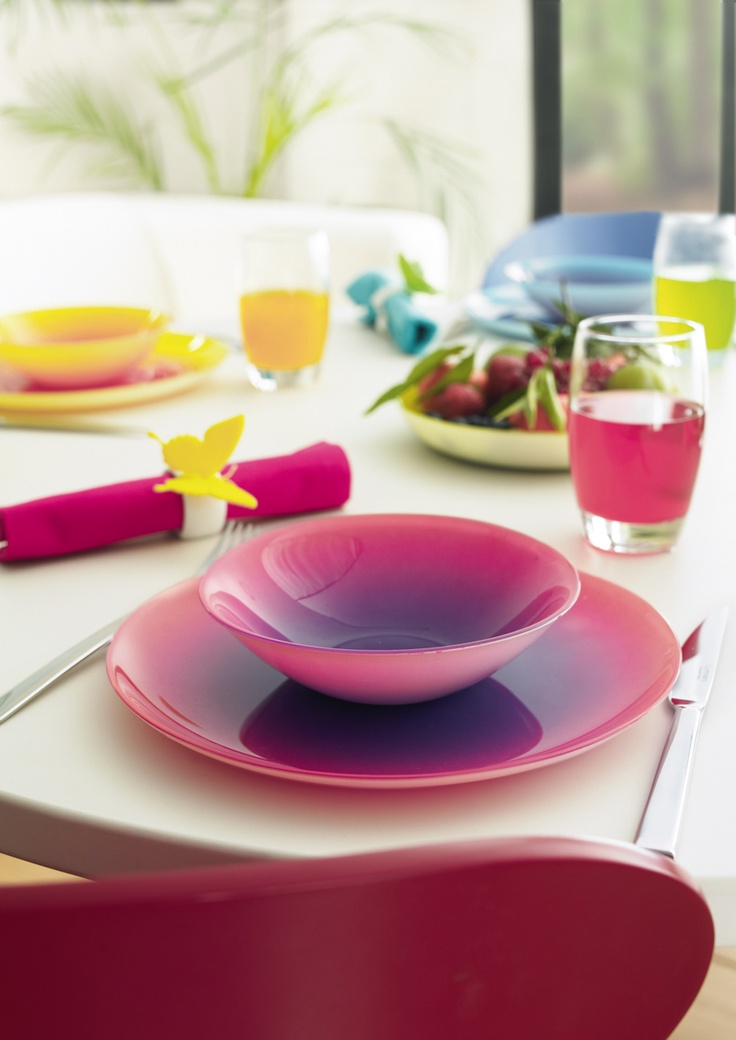 8 best color colour images on pinterest dish sets for Plato llano