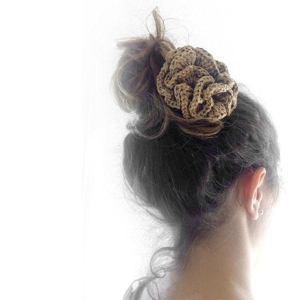 Haarschmuck / Headpiece. Crochet