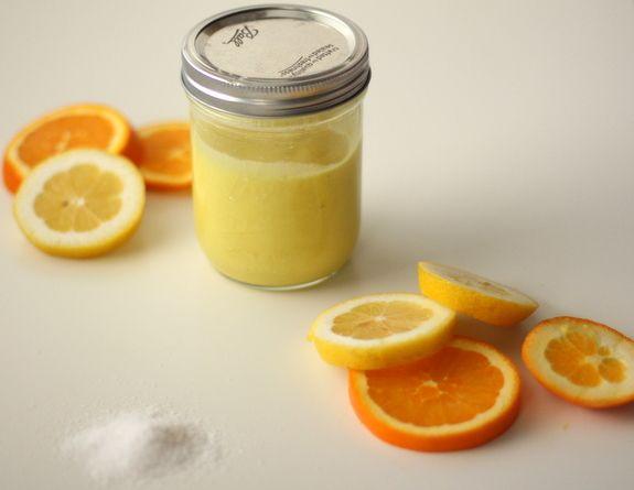 Citrus Salt scrub with blendtec