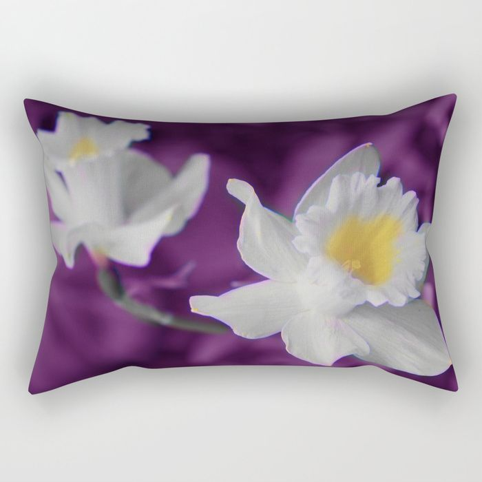 Buy Narcisses (30) Rectangular Pillow by maryberg. Worldwide shipping available at Society6.com. Just one of millions of high quality products available.