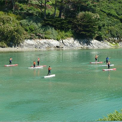paddle boarding_ cornwall _http://crantockbaysurfschool.com _ paddle boarding hens_cornwall_ Newquay _ alternative hen dos