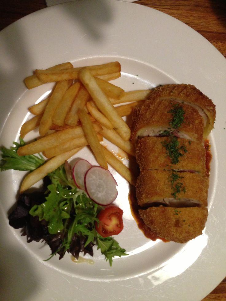 Chicken cordon bleu at Pad@28, SCBD Jakarta Indonesia