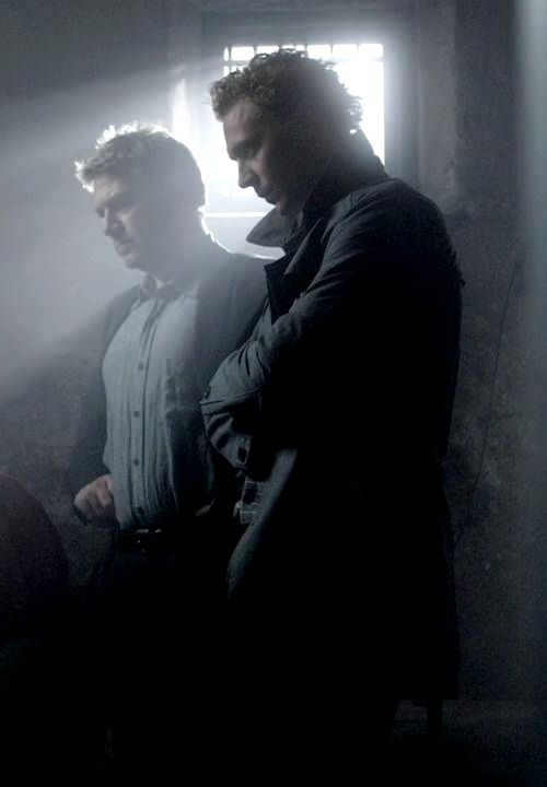 Tom Hiddleston & Kenneth Branagh ~ Wallander  I say no more..........
