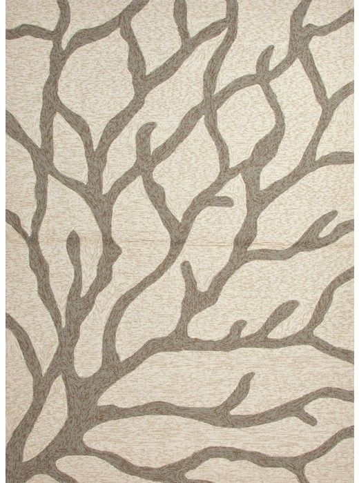 This Coastal Living Coral White Collection Rug (CI09) Is Manufactured By  Jaipur. Navigate