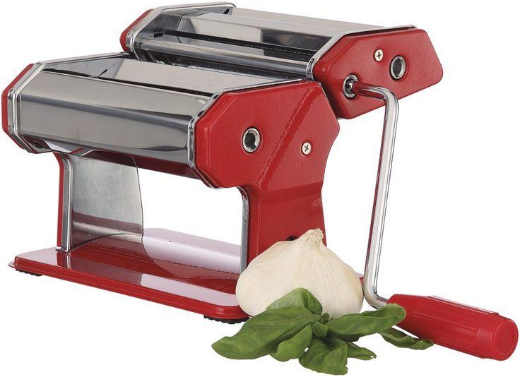 Stevens Red Pasta Machine 150mm