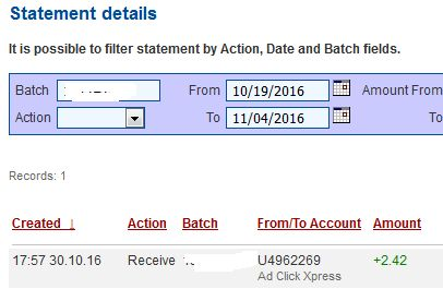 I love making money online with AdClickXpress because this program is definitely NOT A SCAM! AdClickXpress.Official
