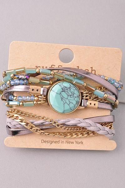 Love Worldwide Wrap Bracelet - ShopLuckyDuck  - 1