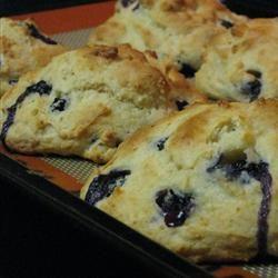 Scones aux bleuets @ http://qc.allrecipes.ca