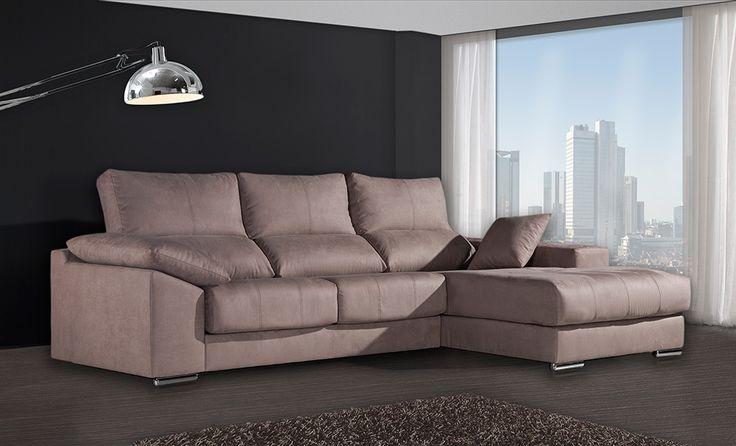 Catálogo sofás chaise longues baratos de Gamamobel. Comprar sofás chaise longue Gamamobel http://www.muebleslluesma.com/gs-sofas/9798-sofa-chaise-longue-goya-gs-sofas.html