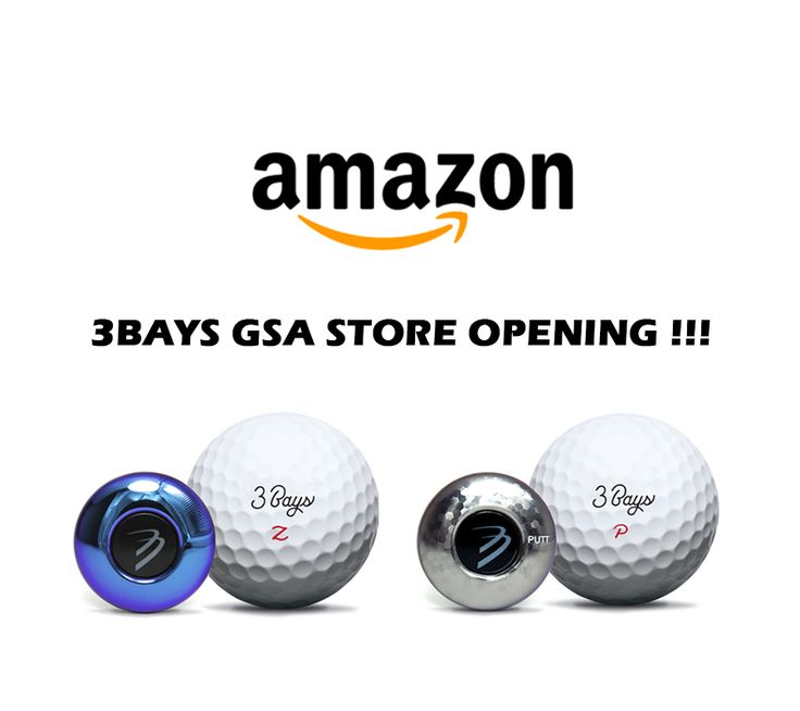 Hello golf fans! Our new Amazon Store of 3Bays GSA Zone and GSA Putt are opening today!!! We welcome all our friends to visit and purchase via Amazon.