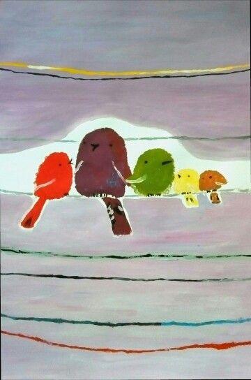 Colour bird