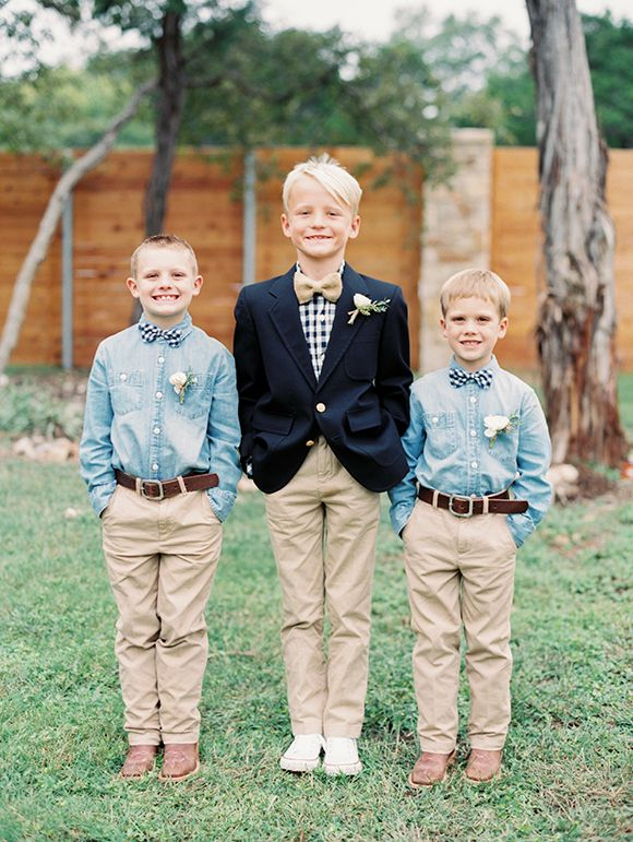 adorable ring bearers   photography by Taylor Lord