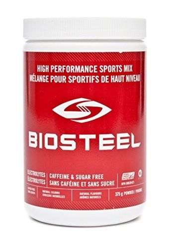 Biosteel High Performance Sports Mix - Enhanced With Electrolytes - Contains Amino Acids And Vitamin B Blend - Helps Maintain Proper Muscle Function - Diabetic & Vegan Friendly - Mixed Berry - 375 Grams