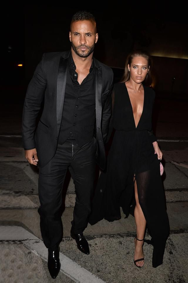 Ricky Whittle takes gorgeous yoga instructor girlfriend Kirstina Colonna for dinner at Hollywood hotspot Craigs