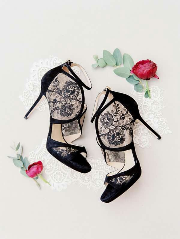 #black #shoes #lace