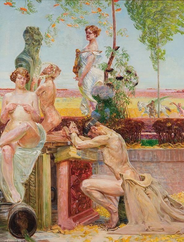 Jacek Malczewski - Allegory (1913)