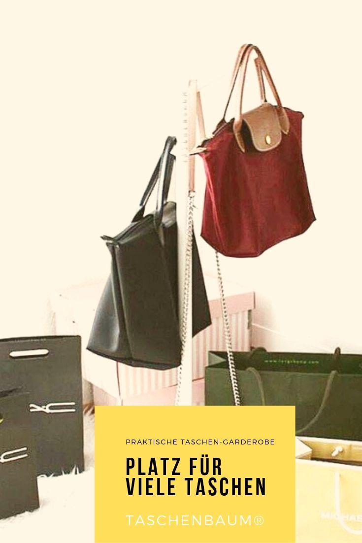 Taschenbaum Eisen Weiss Matt Taschen Regenschirme Garderobe