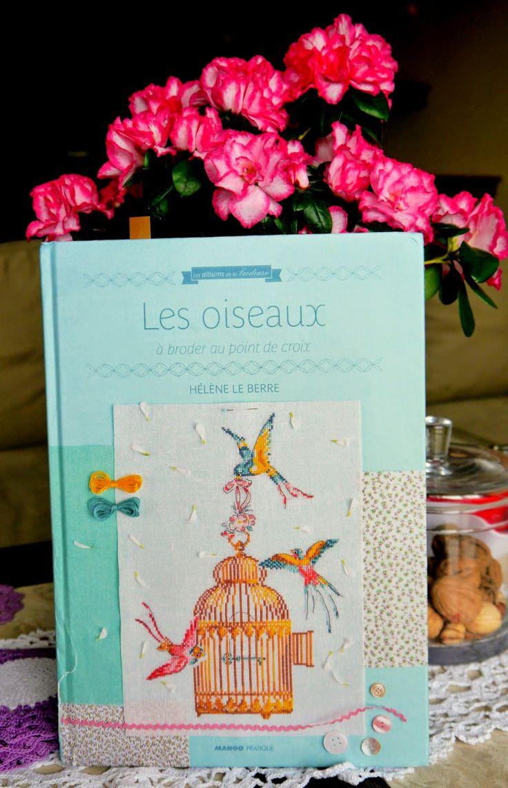 "Krzyżykowo: Helene le Berre "" Les oiseaux"" Piękna książka z pt..."