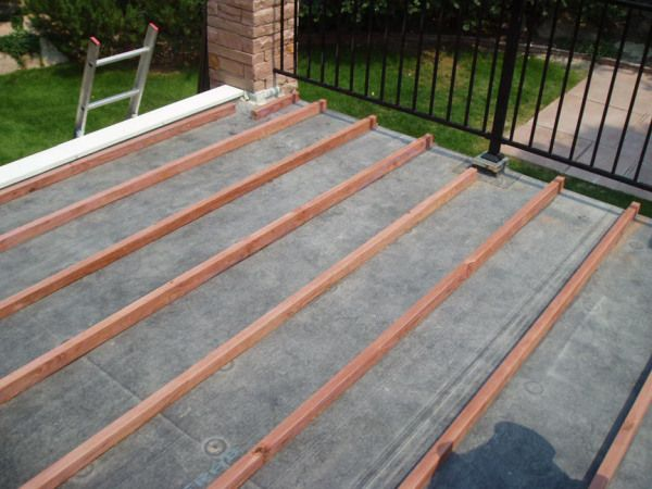 Best Building A Deck On A Flat Roof Building A Deck Flat 400 x 300