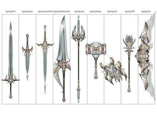 armas kamael, l2 ct1, dynasty equips, armas dynasty, espada dynasty, arco dynasty, adaga dynasty, escudo dynasty, blunt dynasty
