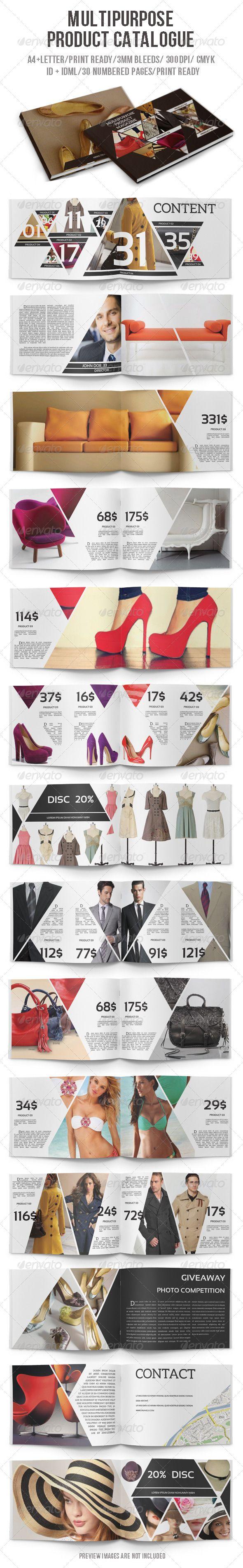 Multipurpose Product Catalogue #GraphicRiver