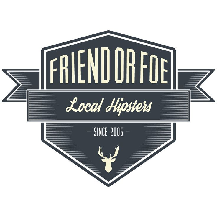 Friend or Foe (punk-core band) Local Hipsters illustration. by: Gino Caron Creative Design