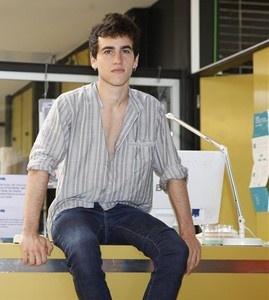 Àlex Monner: «Lleó es un caramelito de personaje: se parece a mí»