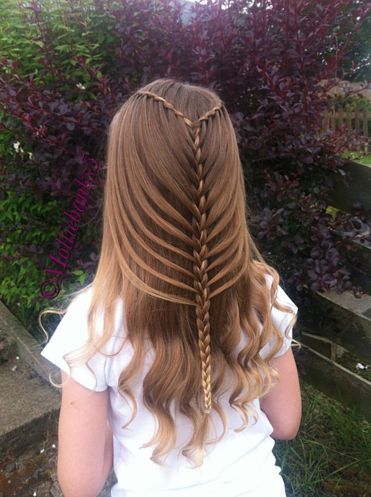 simple hair styles for work twist waterfall into mermaidbraid by molliebanks5 on 5723