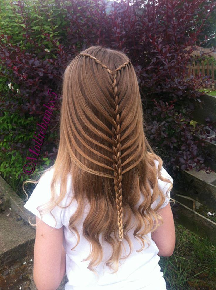 Fun Braids For Bad Hair Days: Twist Waterfall Into Mermaidbraid By @molliebanks5 On
