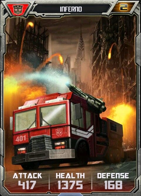 Inferno card