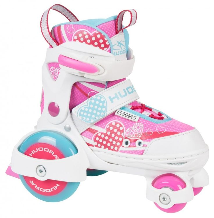 Hudora My First Quad Girl verstellbare Rollschuhe Kinder