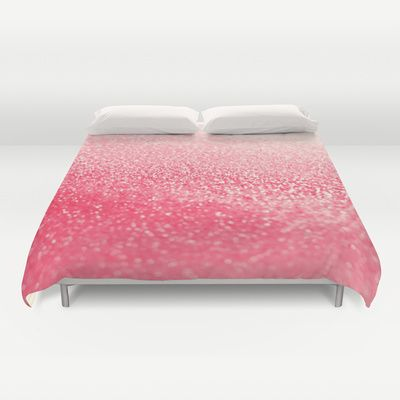 GATSBY CORAL Duvet Cover