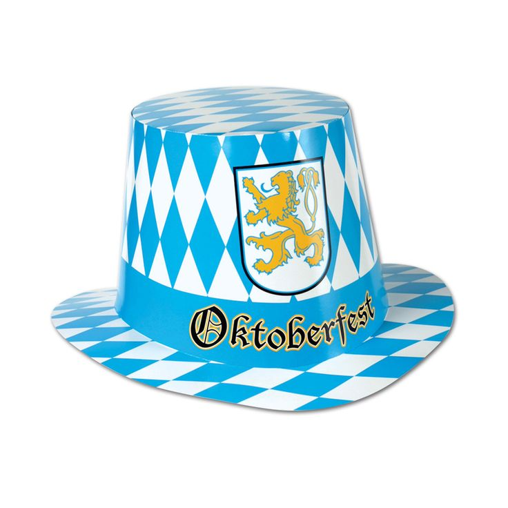 Let's Party With Balloons - Oktoberfest Checkered Cardboard Hat, $10.00 (http://www.letspartywithballoons.com.au/oktoberfest-checkered-cardboard-hat/)
