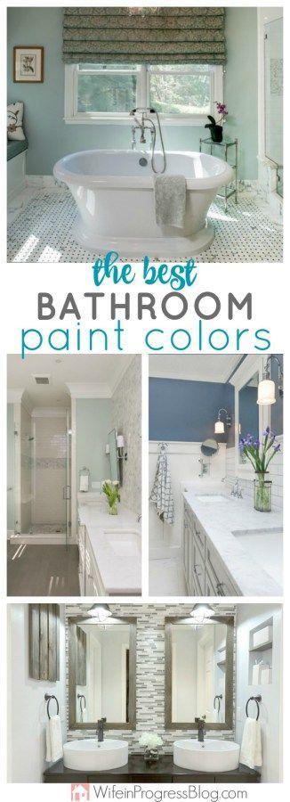 The best bathroom paint colors bathroom style bathroom - Most popular bathroom paint colors ...