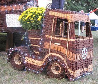 gevlochten truck