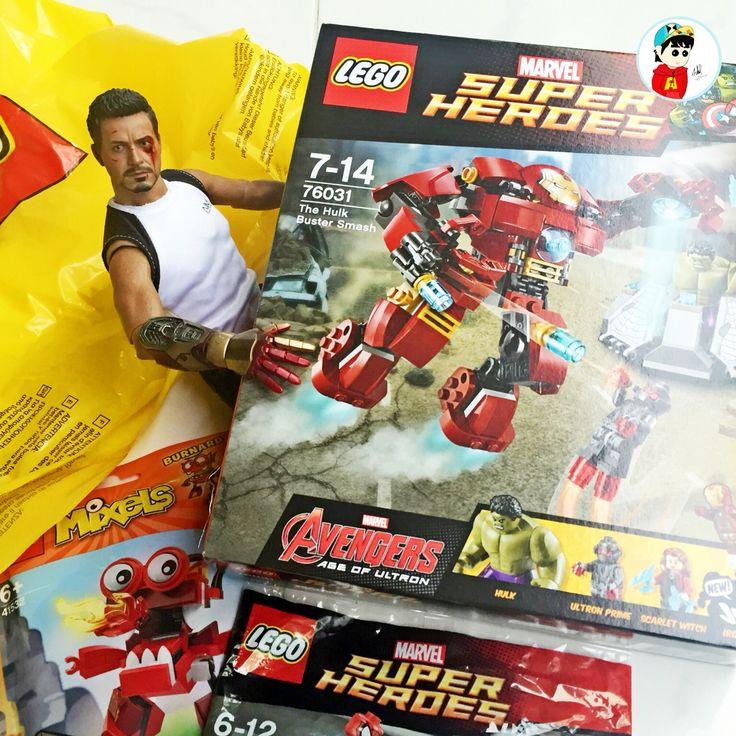 Finally ~  Hulkbuster lego