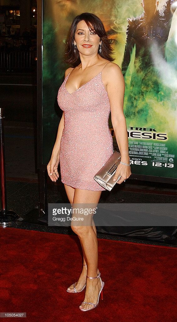 Marina Sirtis during 'Star Trek: Nemesis' World Premiere at Grauman's Chinese Theatre in Hollywood, California, United States.