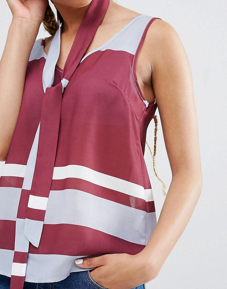 Image 3 ofPixie & Diamond Stripe Vest