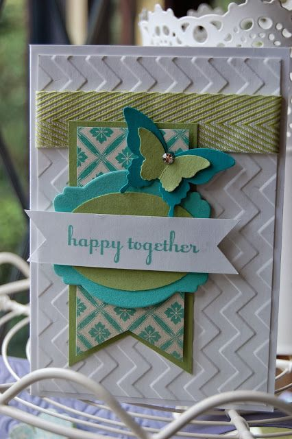 Stampin' Up! Card by Kerry T at Stampin'spiration: