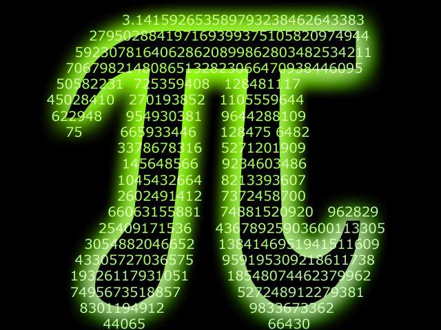 Αεί ο Θεός ο Μέγας γεωμετρεί - Ένας εύκολος τρόπος για να θυμάστε τα πρώτα 22 δεκαδικά ψηφία του π