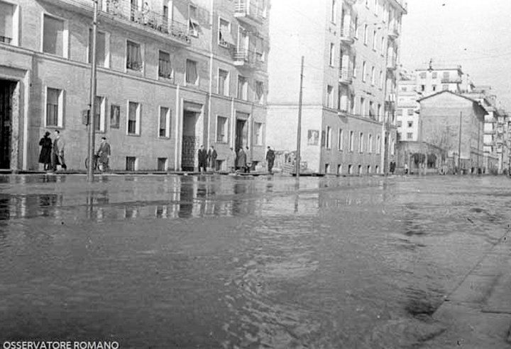 Via Flaminia 1937 Tiber flooding