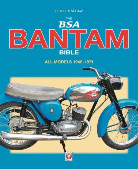 BSA Bantam Bible | Motoring Books | Chaters