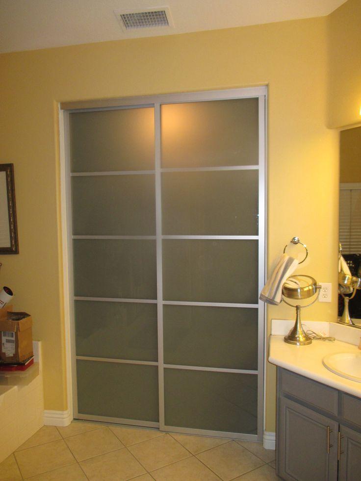 7 Best 2 Panel 2 Track Wood Frame Bypass Closet Doors