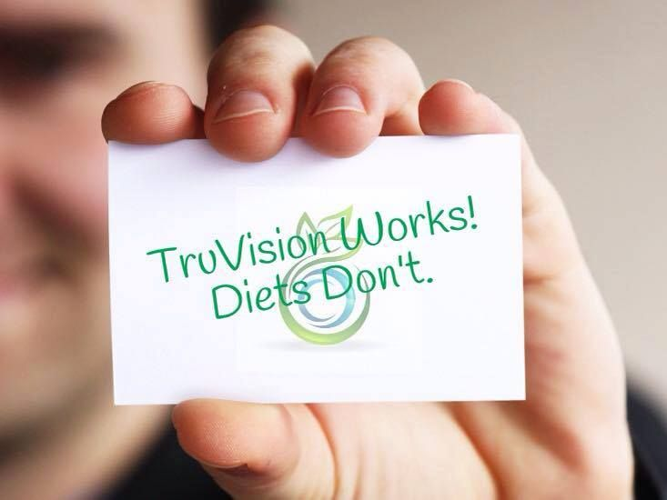 Diets Don T Work Truvision Does Take 2 Pills Twice A Day All
