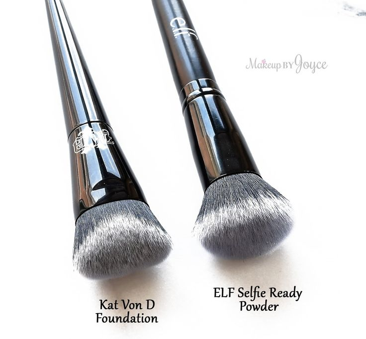 Kat+Von+D+Lock-It+Edge+Foundation+Brush+Dupe+ELF+Selfie+Ready+Powder.jpg (1600×1485)
