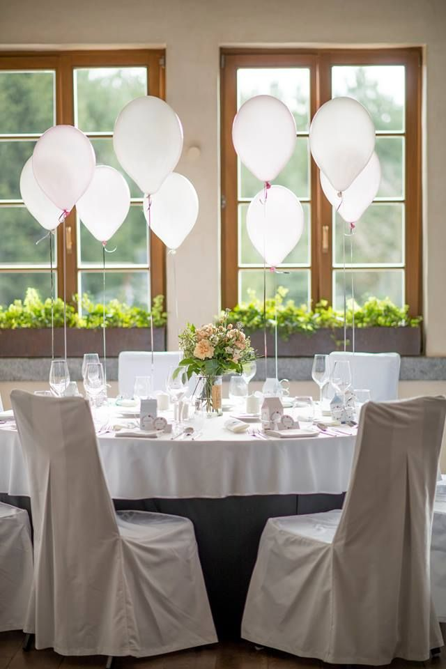 Wedding in HOT_elarnia #wedding #celebration #baloons #decorations #white