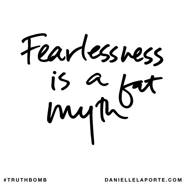 Fearlessness is a fat myth subscribe for Is the word farcical