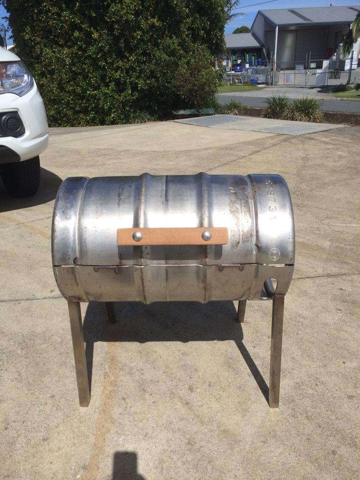 BBQ keg