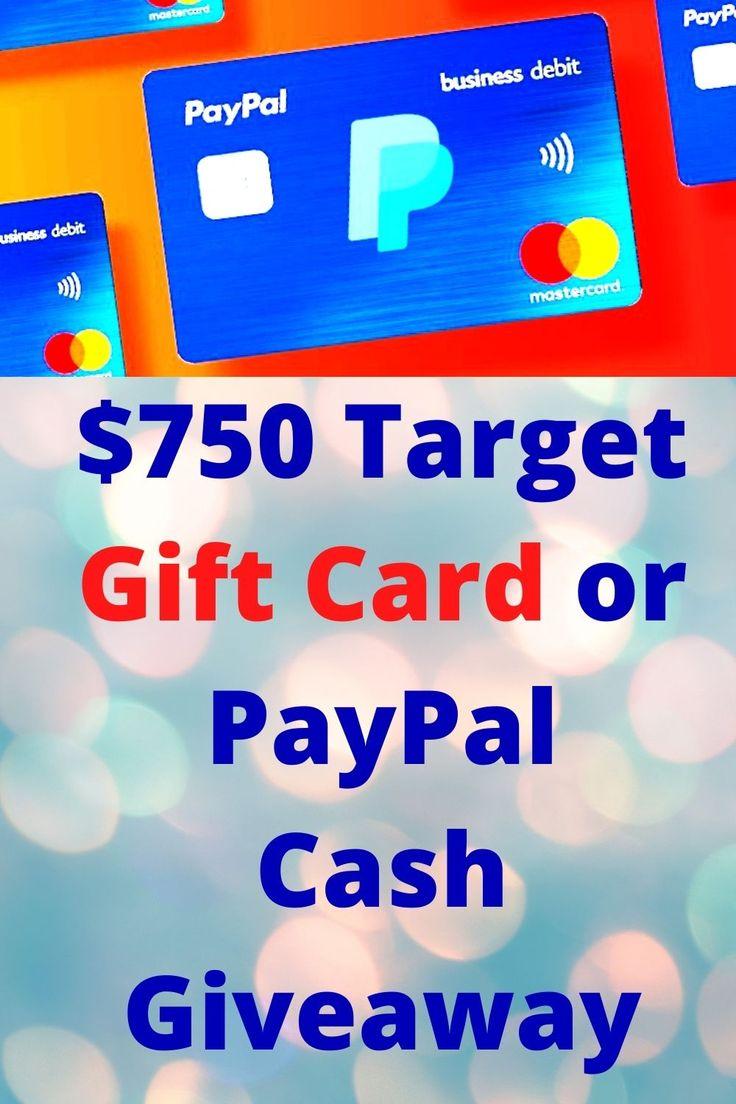 Get a 750 paypal gift card paypal gift card visa gift